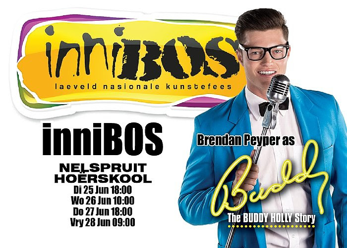 Flyer for BUDDY at Innibos