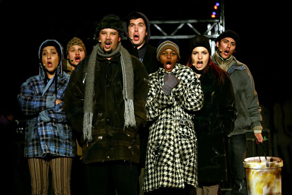 RENT 2007 Ensemble Members (Photo credit - Ruphin Coudyzer)