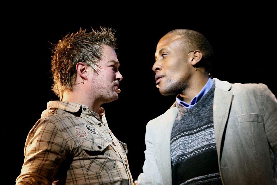 RENT 2007 Shaun V and Thokozani Nzima (Photo credit - Ruphin Coudyzer)